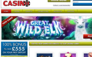 Amsterdams Casino: £555 Bonus