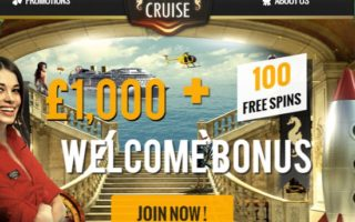 Casino Cruise: £1000 Bonus