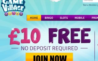 Game Village Casino: £10 No Deposit Bonus