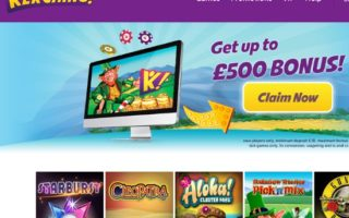 Kerching Casino: £500 Bonus