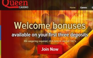 Red Queen Casino: £150 Bonus