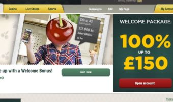 Cherry Casino: £150 Bonus